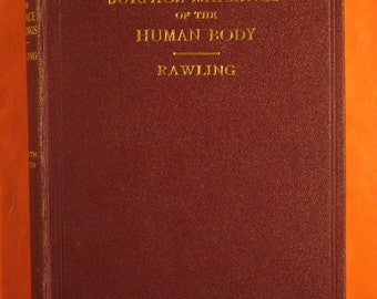 Landmarks and Surface Markings of the Human Body by L. Bathe Rawling