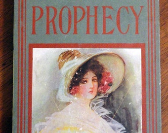 Handbound Artist Journal from vintage GYPSY'S PROPHECY