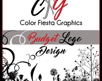 Custom logo design - BUDGET package - one round of free edits