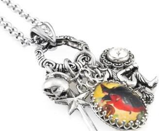 Wicca Necklace, Halloween Witch Jewelry, Wicca Jewelry, Witch Jewelry, Halloween Necklace, Witch Necklace