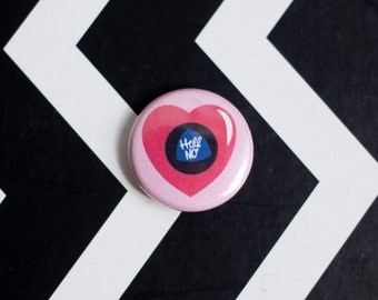 Mean Magic 8 Ball One Inch Button