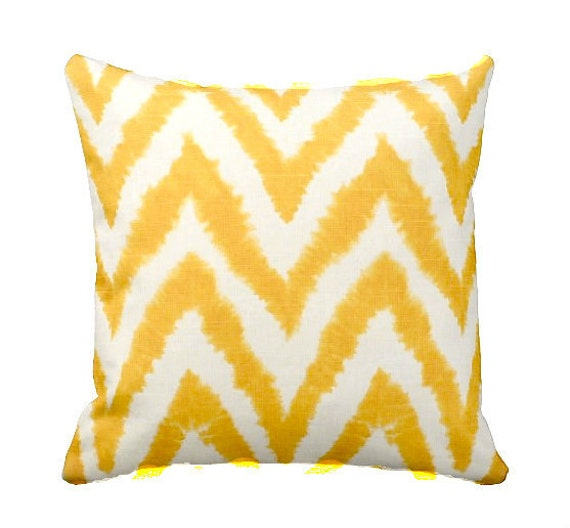 Yellow Pillow Cover Beach Decor Yellow Pillows by AggieRay on Etsy
