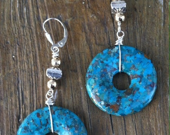 Big & Bold Turquoise Earrings