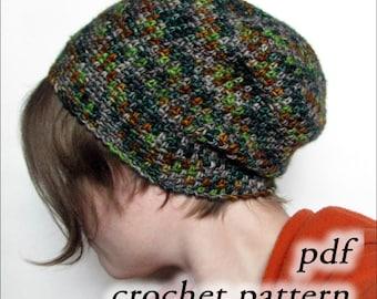 Crochet Pattern pdf - Bistro Beanie