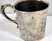 Antique Quadruple Plate Silver Cup