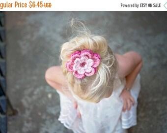 20% OFF Pink Hair Clip Crochet Flower Hair Clip Pink Flower Clip Hot Pink Hair Clip Pink Light Pink Hair Clip Hot PInk Flower Pink Light Pin