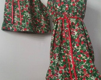 Mommy and Me Christmas Dresses.Mommy and Me Matching. Mommy and Me Clothing. Mother & Daughter.. Christmas. Dresses.Matching Outfit. Holiday