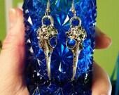 SHORT TIME SALE Bellatrix Lestrange Inspired Earrings Silver or Gold You Pick