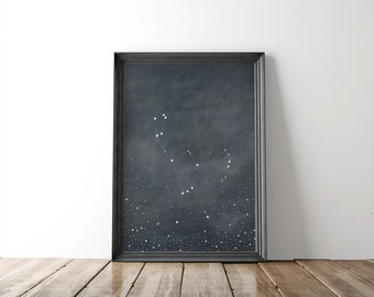 Orion Constellation Fine Art Print // astronomy print // constellation // home goods // home decor // wall art // wall decor // 8x10 print