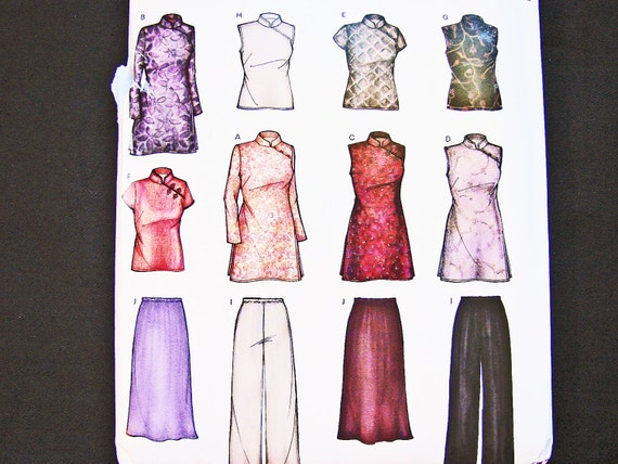 Chinese Blouse Sewing Pattern Blouse Styles