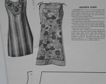 Vintage 60s Woman's Day Pinafore Apron Dress Sewing Pattern 12 Styles Teen Misses Women's One Size