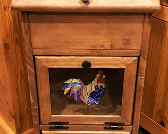 Potato Storage Bin - Rooster (B)