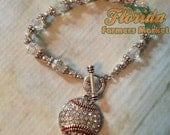 Baseball Jewelry Silver Plated Made in the USA Earrings Necklace Bracelet MOM