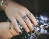 Halo Cuff, bracelet, labradorite, wire, thin, dainty, delicate, stacking