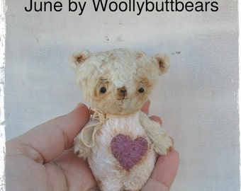 Sold/Reserved June by Woollybuttbears 3 inches