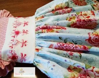 Veranda - Vintage Inspired Flutter Sleeve Dress
