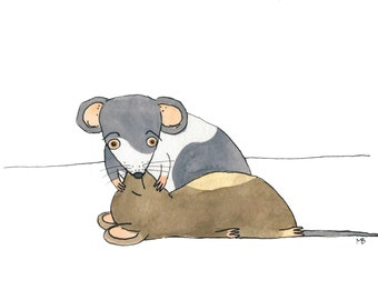 Mouse to Mouse Resuscitation