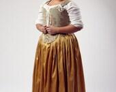 Renaissance Elizabeth Effigy Corset Upon Request