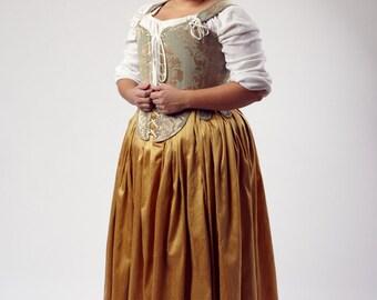 Custom Order Renaissance Elizabeth Effigy Corset Upon Request
