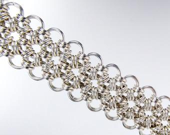 Sterling Silver - Japanese Cuff Bracelet