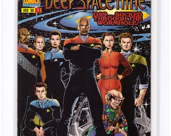 Issue 1 Star Trek Deep Space Nine Comic Book in NM Condition 16-02