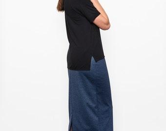 Midi skirt #J01AH16 was 110CAD
