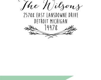 Classic Return Address Stamp