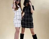 "Dress sixties, vintage dress, rétro dress, pin up dress  ""Emma Pell"""