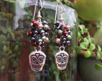 Jewel - Sugar Skull Earrings