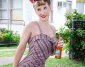 1950's CATALINA styled Reproduction one piece Swimsuit
