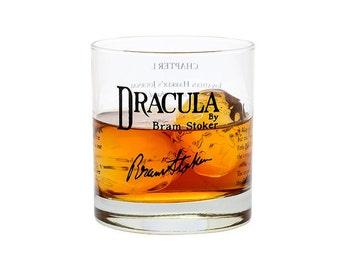 Dracula - Literature Rocks Glass