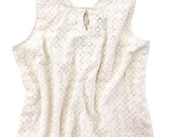 Lanai Cream Top