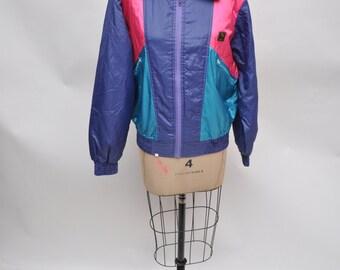 vintage jacket 1980s 1990s coat womens vintage jacket goretex small