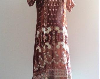 resort dress, holiday cover up, swim top, resort dress, holiday dress, sheer fabric, sequins embroidery, boho dress, gypsy festival dress