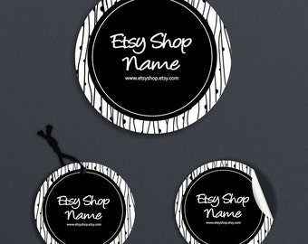 Printable Price Tags - Product Labels - Labels - Round Label  or Hang Tag Design - Sticker Designs - Avery - Personalized Digital File
