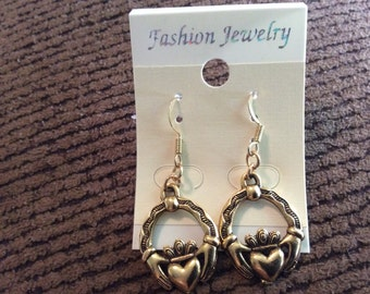 Celtic earrings clauddaug
