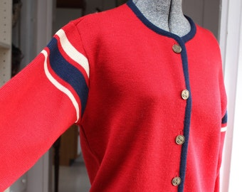 Sweater Cardigan Ski Northwest Mills Seattle Knit VINTAGE by Plantdreaming