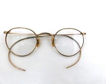 American Optical/Ful Vue Antique Gold filled Vintage Eyeglasses Frames   Rare/#104