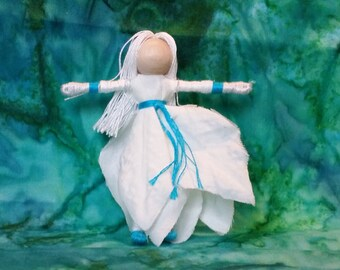 Christmas Fairy, poinsettia flower fairy, Christmas elf