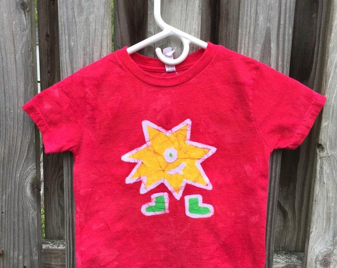 Kids Monster Shirt (4/5), Funny Monster Shirt, Red Monster Shirt, Yellow Monster Shirt, Girls Monster Shirt, Boys Monster Shirt