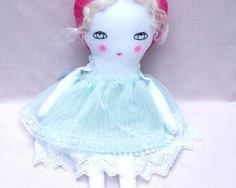 Handmade Ragdoll - Nursery Decor Girls - Gifts for Women - Gifts for Girls - Baby Shower