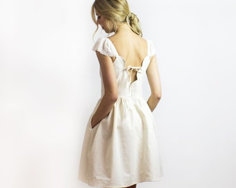 Angel Dress Sweet Special Occasion LINEN