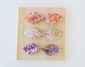 Liberty of London Hair Bows - Fashion for Girls - Hair Clip for Girls