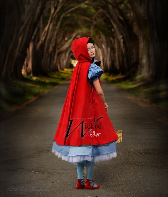 Into The Woods Costume Little Red Riding Hood Costume Luxe