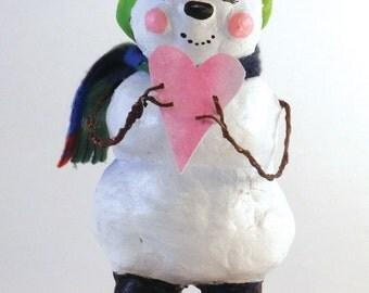 Heartwarming Snowman