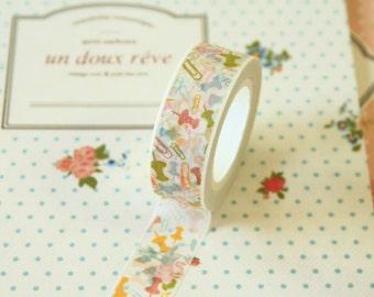 01 Pins & Clips Cartoon Series Ver 2 Washi Masking Tape