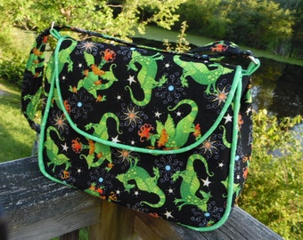 Playful Dragon Purse