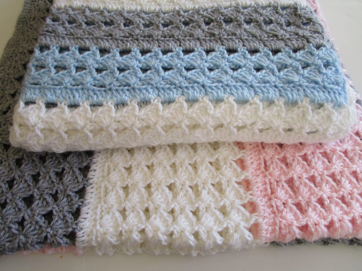 Crochet pattern fairfax baby afghan pattern babyghan afghan easy crochet blanket pattern slanted shell stitch variation crochet afghan christening baby blanket instructions to make it any size bankloansurffo Gallery