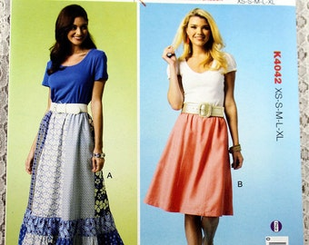 Long skirt pattern | Etsy