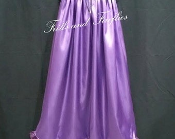 Long Length Dress Half Slips in 5 different Styles and 12 Many Different Color Choices.. Sizes 6 months up to Size 11